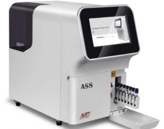AS8 Hemoglobin analyzer (HPLC)